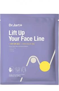 Маска с кофеином для интенсивного лифтинга Dermask Lift Up Your Face Line Dr.Jart+