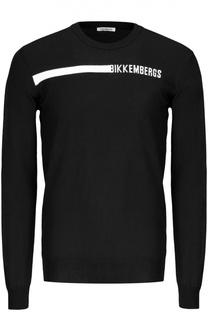 Пуловер вязаный Dirk Bikkembergs