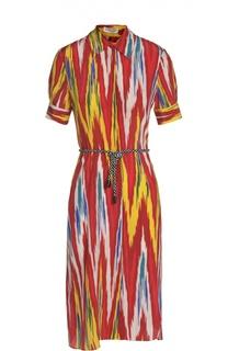Платье с поясом Altuzarra