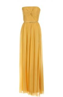 Платье вечернее с ремнем Elie Saab