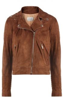 Куртка замшевая Yves Salomon