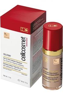 Клеточный крем с тональным эффектом CellTeint 01 Cellcosmet&Cellmen Cellcosmet&;Cellmen