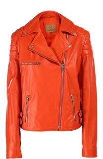 Куртка кожаная MCQ