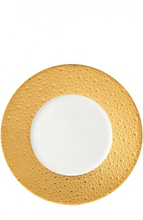 Тарелка салатная Ecume Or Bernardaud