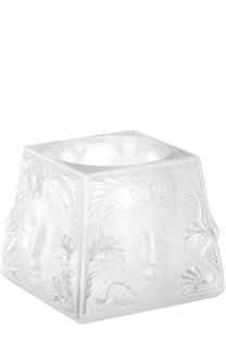 Подсвечник Masque De Femme Lalique