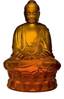 Скульптура Buddha Lalique