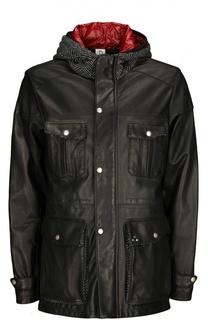 Куртка кожаная Delan