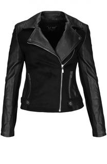Куртка кожаная Armani Jeans