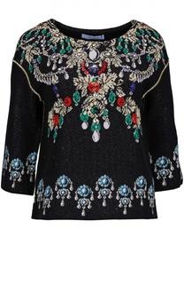 Блуза вязаная Blumarine