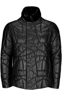 Куртка кожаная Giorgio Armani