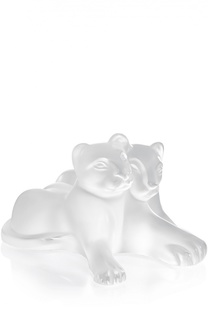 "Статуэтка Lion ""Tambwee Lion Cubs"" Lalique"