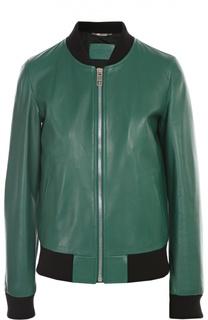 Куртка кожаная Dolce&Gabbana Dolce&;Gabbana