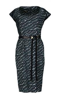Платье с поясом Escada