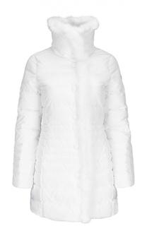 64196b259b44 Купить женские пуховики Armani Jeans в интернет-магазине Lookbuck