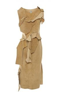 Платье замшевое Loewe