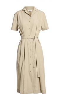 Платье с поясом Tomas Maier