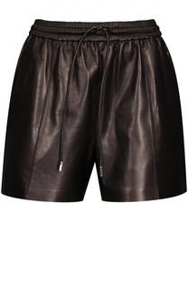 Шорты кожаные Givenchy