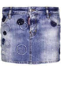 Юбка джинсовая Dsquared2