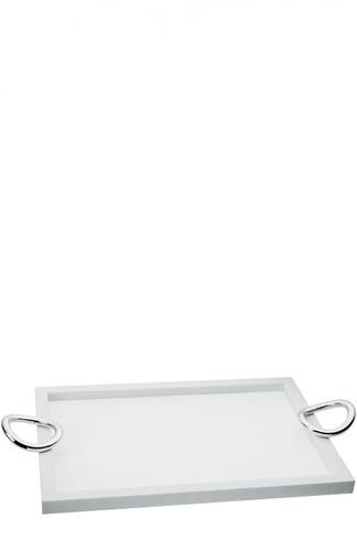 Поднос с ручками Corian 43x32 Vertigo Christofle