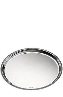 Поднос круглый Malmaison Christofle