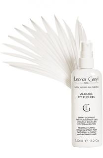 Спрей для укладки с экстрактом водорослей и цветов Leonor Greyl