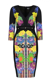 Платье джерси Just Cavalli