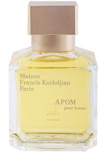 Парфюмерная вода-спрей Apom Maison Francis Kurkdjian