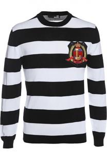 Пуловер вязаный Moschino