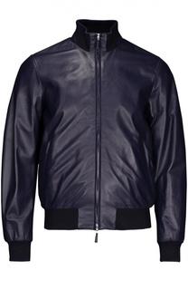 Куртка кожаная Hackett