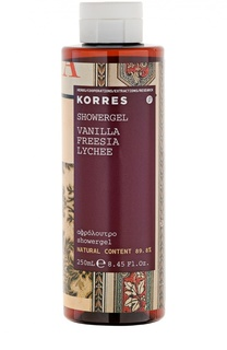 Гель для душа Vanilla Freesia Showergel Korres