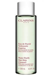 Очищающая вода для лица для комбинированой или жирной кожи Clarins