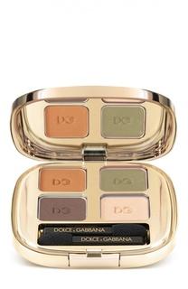 Тени для век Smooth Eye Colour Quad 120 тон (mediterraneo) Dolce&Gabbana Dolce&;Gabbana