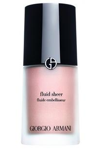 Fluid Sheer флюид для сияния кожи оттенок 7 Giorgio Armani