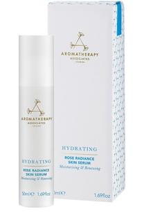 Ревитализирующая увлажняющая сыворотка Rose Radiance Skin Serum Aromatherapy Associates