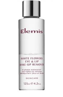 Двухфазный лосьон для демакияжа Белая Лилия WhiteFlowers Eye & Lip Make-Up Remover Elemis