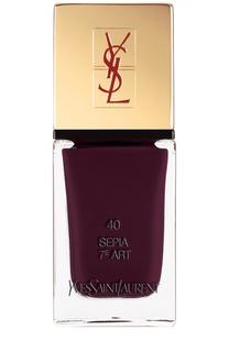 La Laque Couture Лак для ногтей 40 YSL