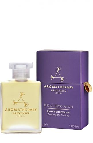 Масло для ванны De-Stress Mind Bath & Shower Oil Aromatherapy Associates