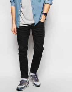 Черные зауженные джинсы Diesel Sleenker 886Z - Черный
