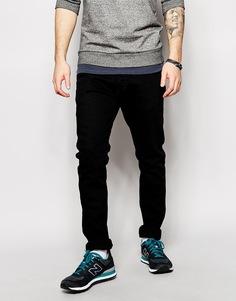 Черные узкие джинсы Diesel Jeans Tepphar 886Z - Черный