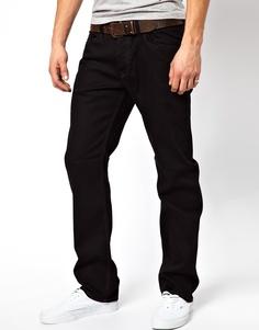 Черные прямые джинсы Diesel Waykee 886Z - Черный
