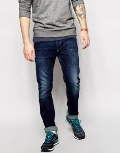 Узкие джинсы Diesel Belther 814W - Синий