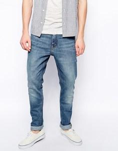 Голубые джинсы скинни Weekday Friday - Синий Blue Warning