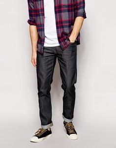 Прямые джинсы из сухой ломаной саржи Nudie Jeans Slim Jim - Dry broken twill