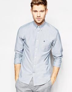 Оксфордская рубашка слим Selected Homme - Пыльно-синий