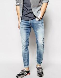 Сверхэластичные джинсы скинни Replay Hyperflex Jondrill - Светлый
