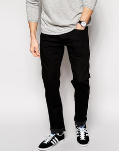 Классические черные джинсы слим Lee Jeans Daren - Чистый черный