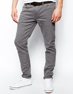 Серые стретчевые джинсы слим Farah - Серый