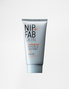 Маска для лица с гликолевой кислотой NIP+FAB Fix Mask - Glycolic fix