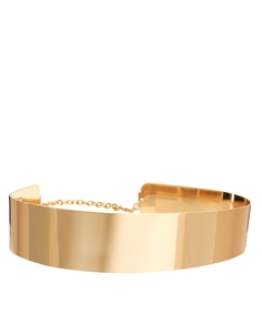 Металлический пояс ASOS - Золотой