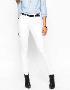 Белые джинсы скинни ASOS Ridley - Белый
